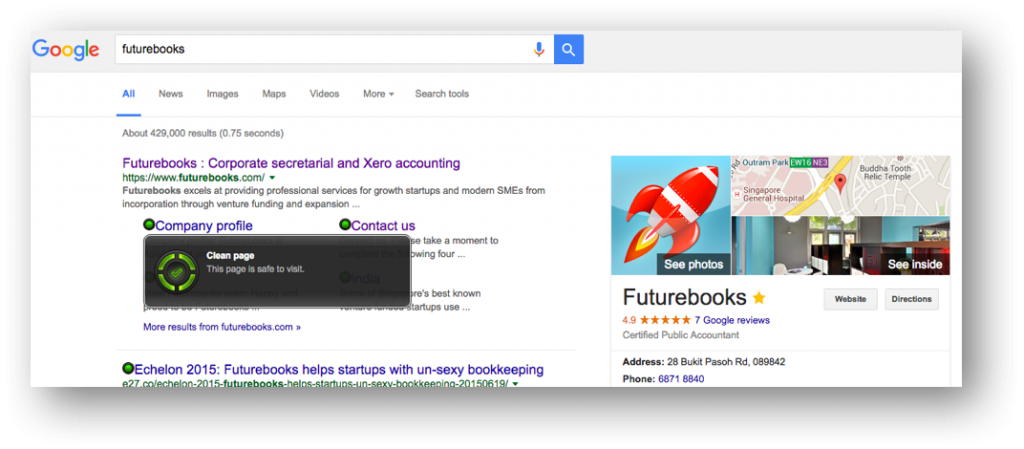 Futurebooks Privacy _ Chrome