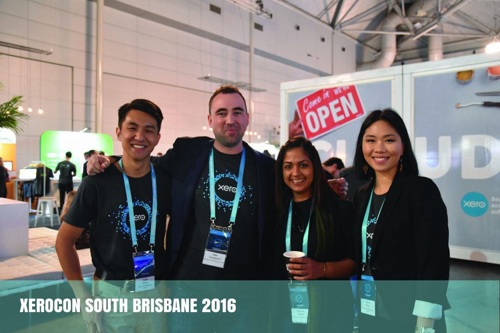 futurebooks xero asia team at xerocon