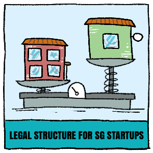 Comparison on legal structures for Singapore startups
