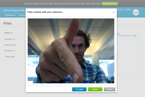 futurebooks- Take a photo from your webcam